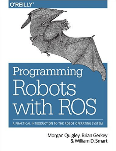 Programming Robots with               ROS Cover Image